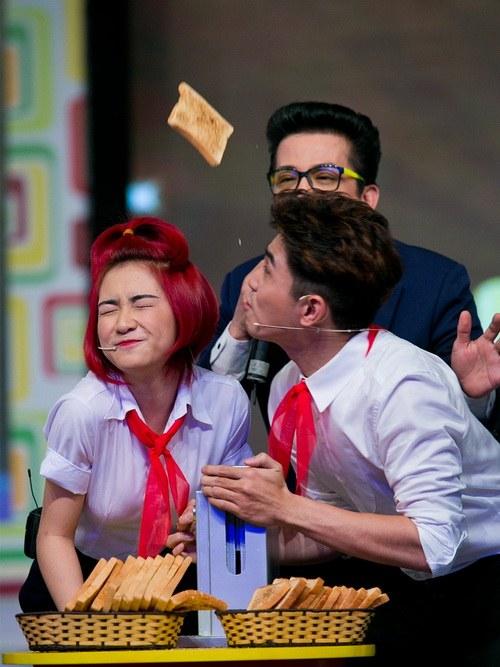 """phuong my chi dong kich, huong giang idol """"quay"""" tung bung - 9"""