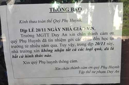 """xin khong nhan qua 20/11: lieu qua co di """"cua sau""""? - 2"""