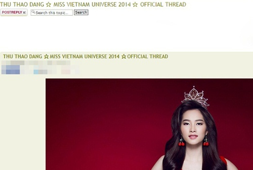 hh thu thao khong du thi miss universe 2014 - 2