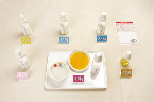 Thực đơn ăn dặm kiểu Nhật cho trẻ từ 5-6 tháng tuổi