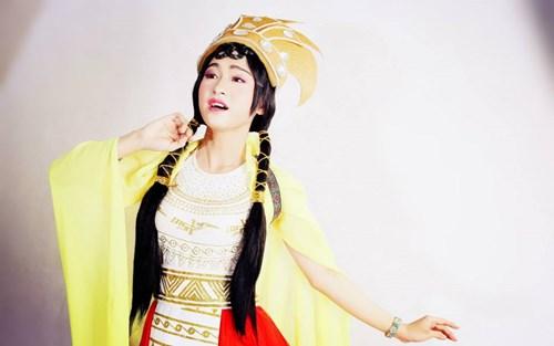 """choang voi tai gia gai cua """"nguoi dep gay xon xao"""" got talent - 6"""