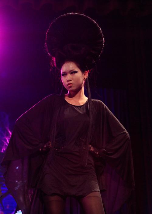 davines hair show 2014: loi cuon den giay phut cuoi cung - 14