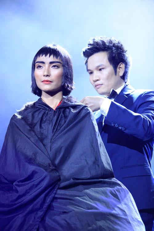 davines hair show 2014: loi cuon den giay phut cuoi cung - 6