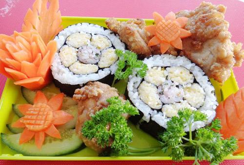 com cuon sushi vua ngon lai dep - 8
