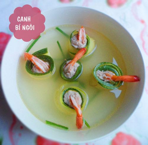 thuc don: ngon mieng voi tom rim mam me, salad su su - 2