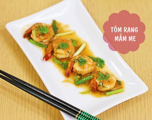 thuc don: ngon mieng voi tom rim mam me, salad su su - 1