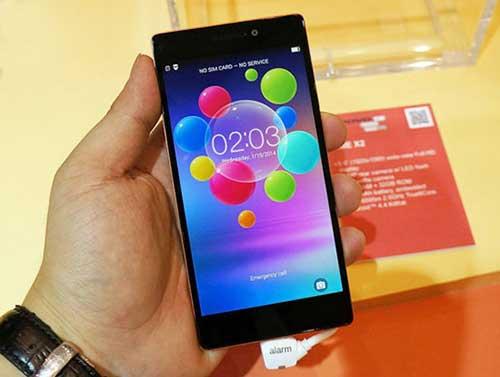 smartphone lenovo vibe x2 ve viet nam co gia 8,49 trieu dong - 1