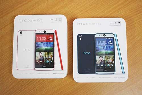 """Ảnh thực tế smartphone """"tự sướng"""" HTC Desire EYE tại Việt Nam-1"""
