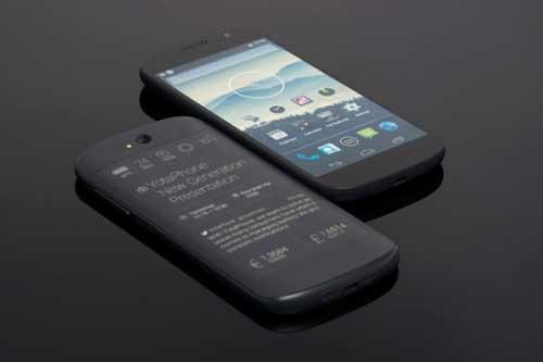 smartphone 2 man hinh yotaphone 2 se ra mat vao 3/12 - 2