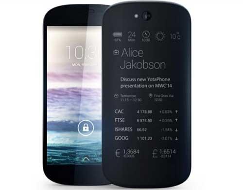 smartphone 2 man hinh yotaphone 2 se ra mat vao 3/12 - 7