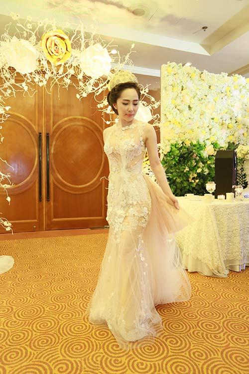 Doãn Tuấn hôn Quỳnh Nga say đắm trong ngày cưới - 12
