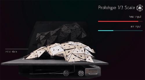 """Nhà """"Origami"""" - vật liệu xây dựng kì diệu của tương lai-2"""