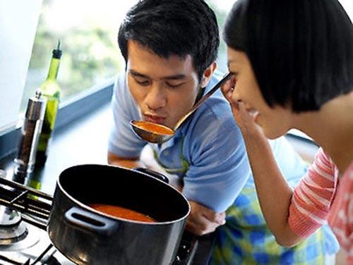 Người vợ chưa từng nấu ăn cho chồng-2