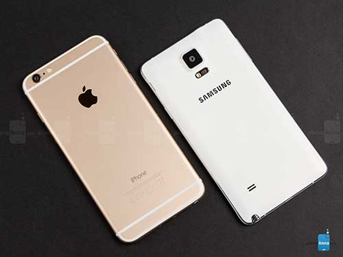 6 diem galaxy note 4 thua dut iphone 6 plus - 1