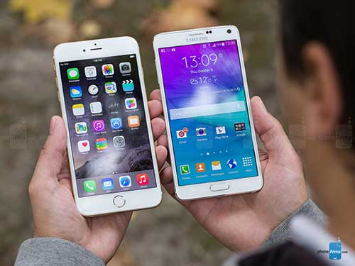 6 diem galaxy note 4 thua dut iphone 6 plus - 3