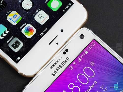 10 tinh nang quy cua galaxy note 4 ma iphone 6 plus khong co - 1