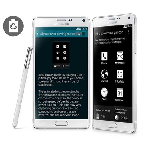 10 tinh nang quy cua galaxy note 4 ma iphone 6 plus khong co - 6