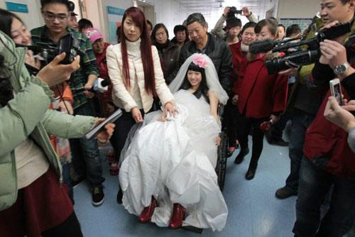 Rơi nước mắt với đám cưới của cô dâu mắc bạo bệnh-5