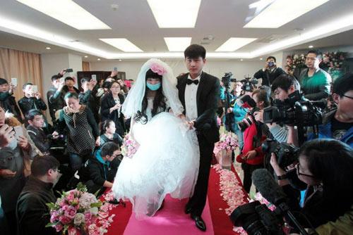 Rơi nước mắt với đám cưới của cô dâu mắc bạo bệnh-6