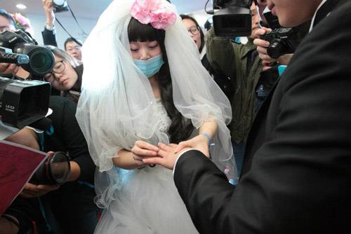 Rơi nước mắt với đám cưới của cô dâu mắc bạo bệnh-7