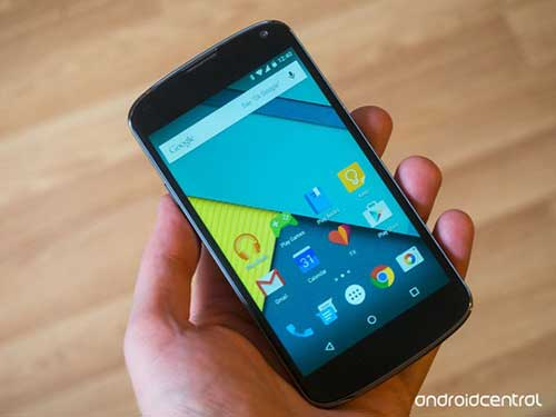 android 5.0 da san sang cho nexus 4 - 1