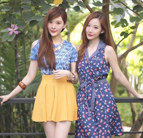 cap chi em song sinh tao 'song' vi giong het my nu han - 1