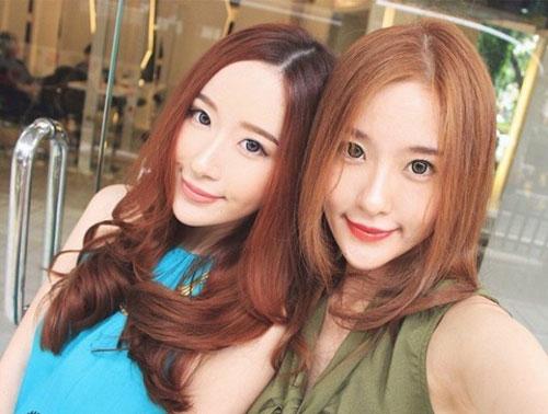 cap chi em song sinh tao 'song' vi giong het my nu han - 2