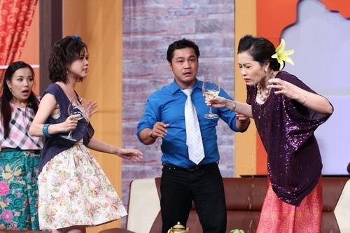 thuy tien phu nhan chuyen ghen tuong voi cong vinh - 10