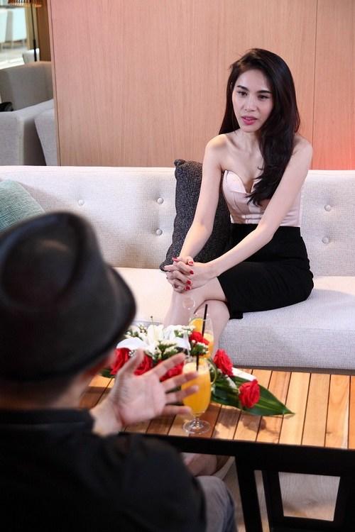 thuy tien phu nhan chuyen ghen tuong voi cong vinh - 5