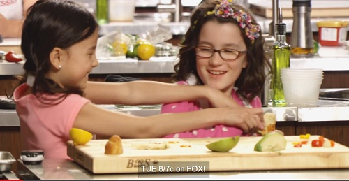 masterchef junior: co be abby nau an tu nam 2 tuoi - 2