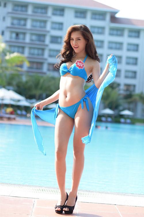 bikini mat mat cua thi sinh hoa hau viet nam - 7