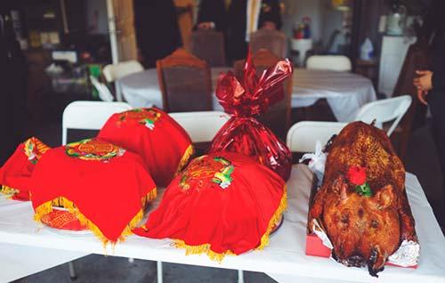 Sao Việt chuộng lễ ăn hỏi kiểu truyền thống-2