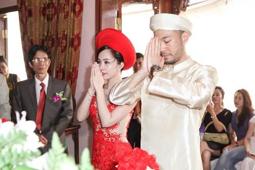Sao Việt chuộng lễ ăn hỏi kiểu truyền thống-13