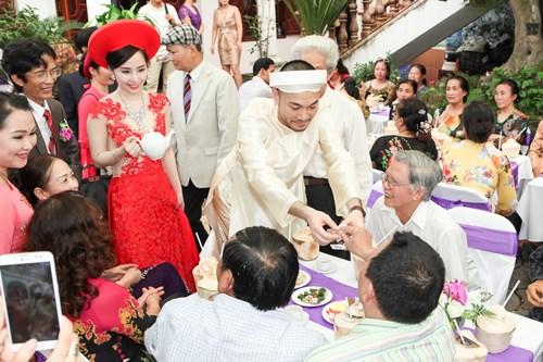 Sao Việt chuộng lễ ăn hỏi kiểu truyền thống-15