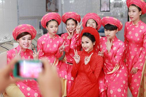 Sao Việt chuộng lễ ăn hỏi kiểu truyền thống-3