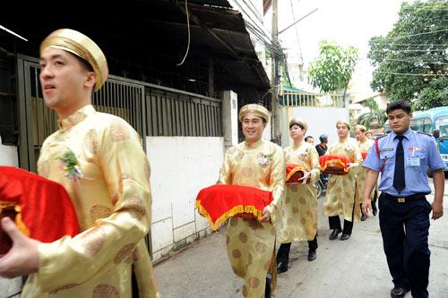 Sao Việt chuộng lễ ăn hỏi kiểu truyền thống-9