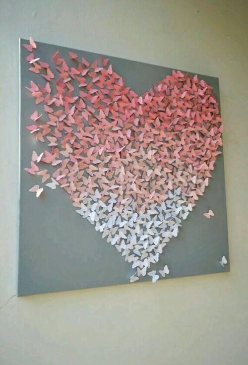 Nửa tiếng bày phòng ngủ như mơ với bướm 3D nghệ thuật-8