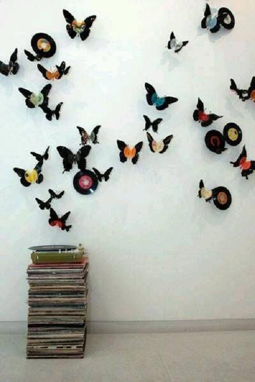 Nửa tiếng bày phòng ngủ như mơ với bướm 3D nghệ thuật-9