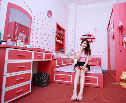 tham quan phong ngu hong lang man 4 hot girl xinh xan - 13