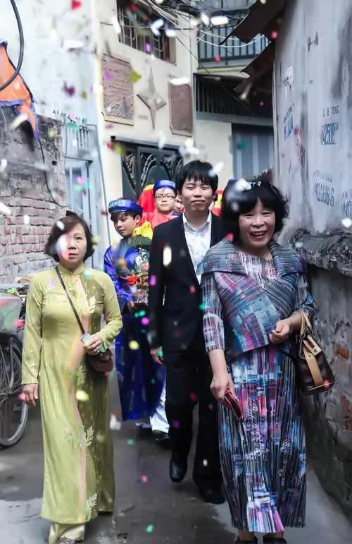 dam hoi thu vi cua co gai viet lay chong han - 4