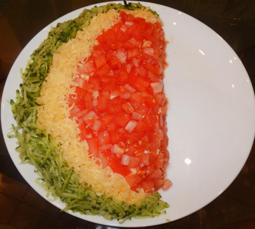 salad thit ga hinh dua hau vua dep lai ngon - 5