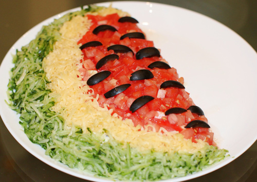 salad thit ga hinh dua hau vua dep lai ngon - 6