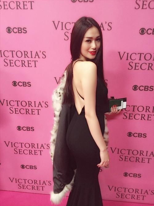 "khanh my ""sang chanh"" di xem victoria's secret show - 7"