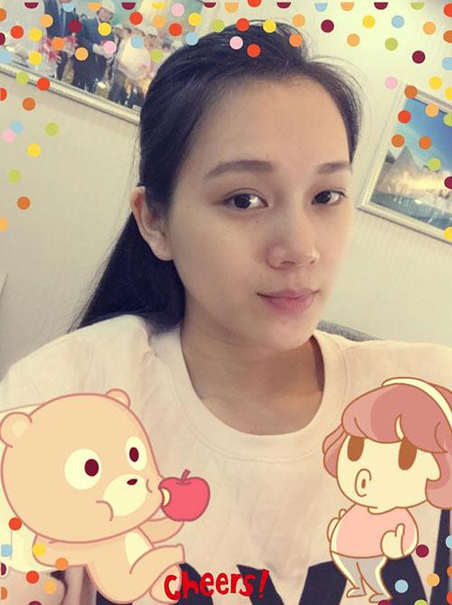 ngoc thach hanh phuc khoe bung bau 5 thang - 1