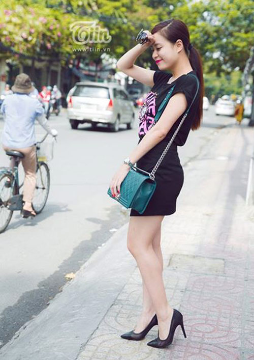 hoang thuy linh ghi diem voi thoi trang duong pho - 12