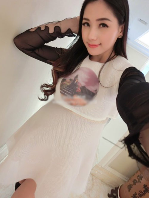 say dam voi ve dep cua hotgirl tq mang bau song thai - 2