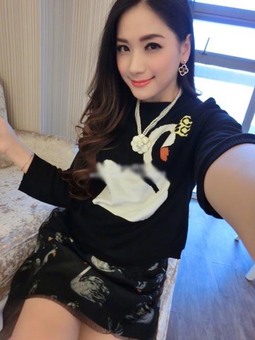 say dam voi ve dep cua hotgirl tq mang bau song thai - 11