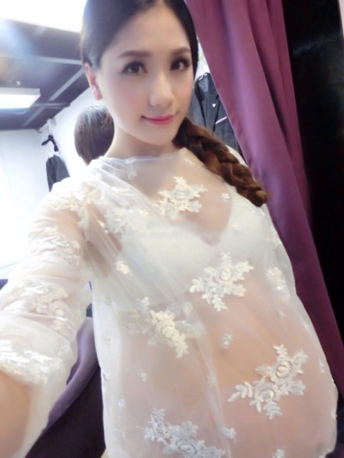 say dam voi ve dep cua hotgirl tq mang bau song thai - 15