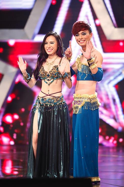 "cau be ""thi mau"" tien thang vao chung ket got talent - 5"