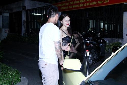 huong giang idol duoc ban trai viet kieu thap tung - 9